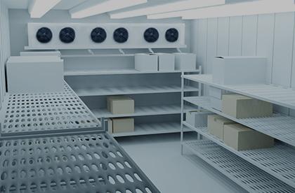 Estanterías para cámaras frigoríficas Barcelona